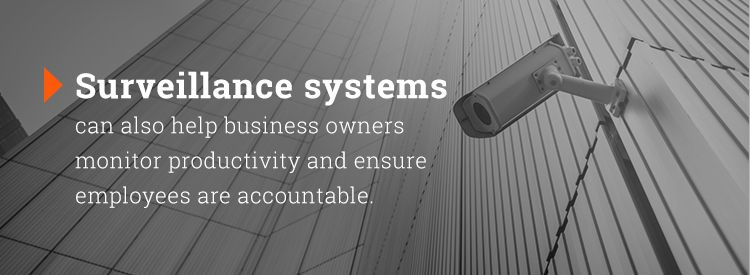 how surveillance systems help business owners